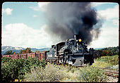 D&amp;RGW #488 heading eastbound out of Durango.<br /> D&amp;RGW  Durango, CO
