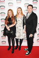 Jane Goldman and husband Jonathan Ross<br /> arives for the Empire Magazine Film Awards 2014 at the Grosvenor House Hotel, London. 30/03/2014 Picture by: Steve Vas / Featureflash