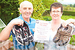 AFRICAN RUN: Glin couple, Denis and Margaret Culhane who are to take part in the Great Ethiopian Run in Africa next month.