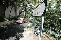 Severn Road on Hong kong's exclusive Peak, Hong Kong Island, Hong Kong.<br /><br />Photo by Alex Hofford / Sinopix