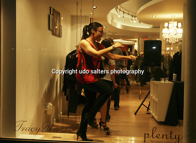 Atmosphere at Fashion's Night Out 2010 at Tracy Reese's boutique, New York, NY 9/10/10