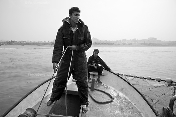2010 November 15 - Gaza<br /> Fishermen in Gaza are only allowed to sail within 3 nautical miles, what makes it extremely difficult to fish. Whenever they reach the 3 miles, Israeli gunboats approach them and often start to shoot at them.