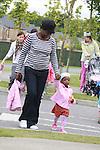 Just Us Montessori Big Toddle walk in aid of Barnardos.Pic: Fran Caffrey/www.newsfile.ie