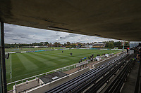 General view of the stadium ahead of the Greene King IPA Championship match between London Scottish Football Club and Ealing Trailfinders at Richmond Athletic Ground, Richmond, United Kingdom on 8 September 2018. Photo by David Horn.