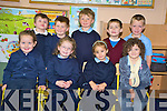 The junior infants in Knockanes National School, Headford, took time out of their busy schedule to pose for a photo on Friday...NO NAMES TO BE GIVEN IN THE PHOTO-SCHOOL POLICY. G.