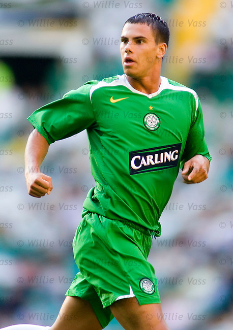 Jeremie Aliadiere, Celtic.stock season 2005-2006.pic willie vass