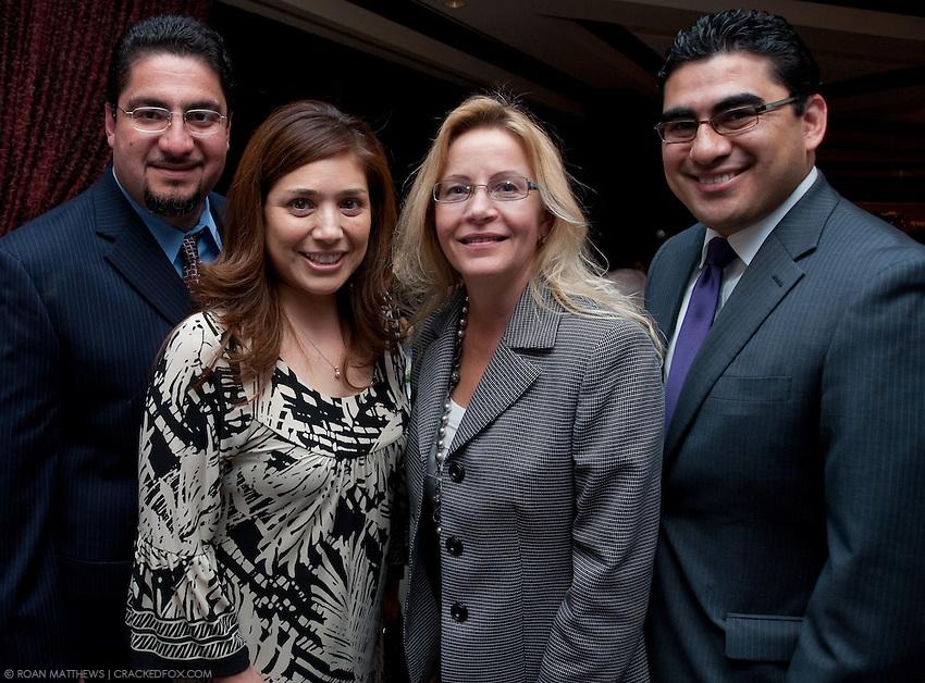 Portrait of Richard Cantu, Cecillia Sauceda, Gretchen Larson and State Representative Armando Walle