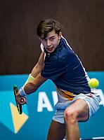 Alphen aan den Rijn, The Netherlands, 25 Januari 2019, ABNAMRO World Tennis Tournament, Supermatch, Amadatus Admiraal (NED)<br /> <br /> Photo: www.tennisimages.com/Henk Koster