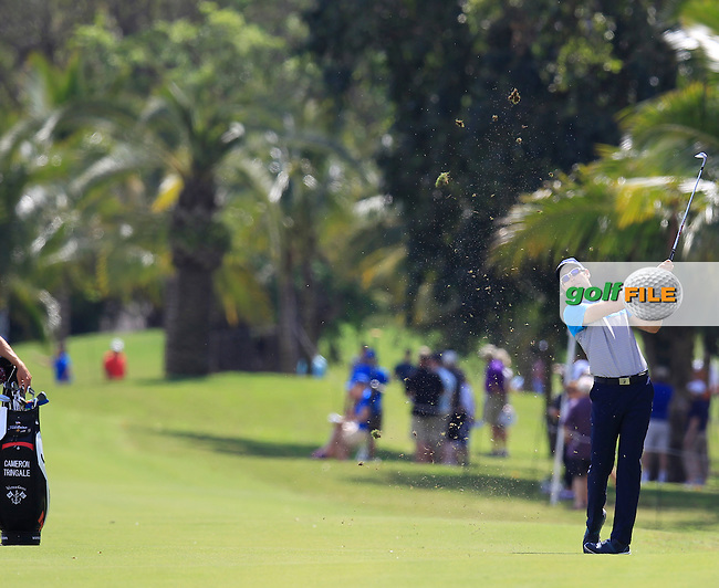 Cameron Tringale (USA) during the 2nd round at the WGC Cadillac Championship, Blue Monster, Trump National Doral, Doral, Florida, USA<br /> Picture: Fran Caffrey / Golffile