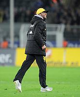 FUSSBALL   1. BUNDESLIGA  SAISON 2011/2012   14. Spieltag   26.11.2011 137. Derby Borussia Dortmund - FC Schalke 04                  JUBEL Trainer Juergen Klopp (Borussia Dortmund) nach Spielende.