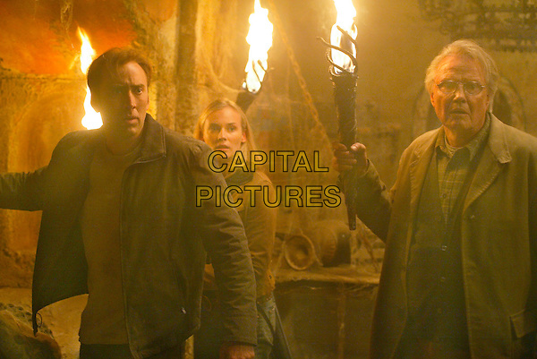 NICOLAS CAGE, DIANE KRUGER & JON VOIGHT .in National Treasure.Filmstill - Editorial Use Only.CAP/AWFF.supplied by Capital Pictures.