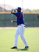 Esdras Abreu / Texas Rangers 2008 Instructional League..Photo by:  Bill Mitchell/Four Seam Images