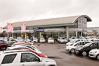 Bristol Street Motors Hyundi and Suzuki dealership, Mansfield