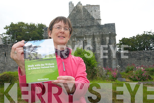 Author, Mary -Rose Bogan, whose first book 'Walk with the Writers in Killarney National Park' is now on sale.