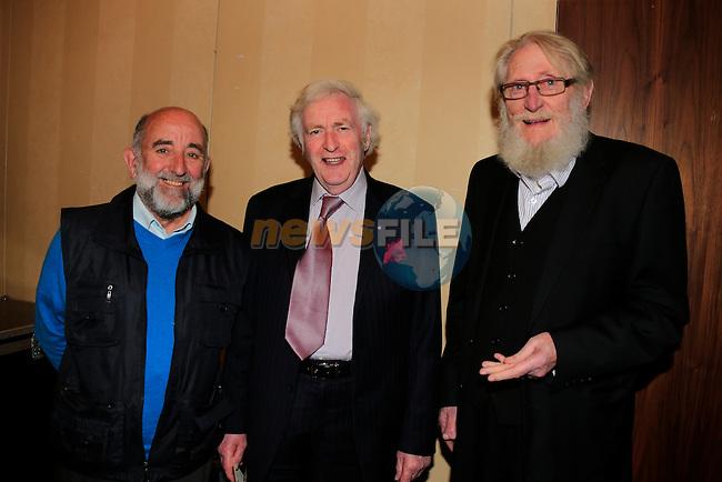 Richard Gerard Pat Fullam Steve Merrydue Old Drogheda Society 50 years celebrate <br /> Picture: www.newsfile.ie