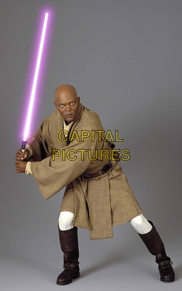SAMUEL L. JACKSON.in Star Wars Episode 2 - Attack of the Clones.*Filmstill - Editorial Use Only*.Ref: FB.www.capitalpictures.com.sales@capitalpictures.com.Supplied by Capital Pictures