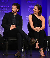 """HOLLYWOOD, CA - MARCH 24: Actors Milo Ventimiglia and Mandy Moore attend PaleyFest 2019 for 20th Century Fox Television's """"This is Us"""" at the Dolby Theatre on March 24, 2019 in Hollywood, California. (Photo by Frank Micelotta/20th Century Fox Television/PictureGroup)"""