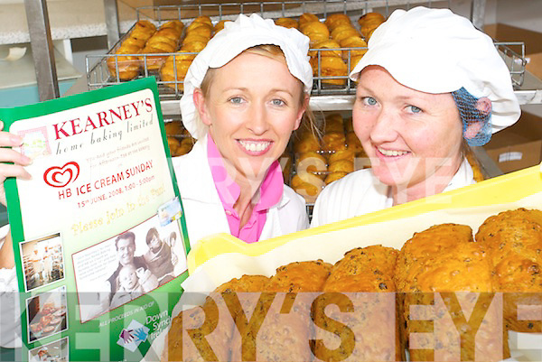 Maura and Siobhan Kearney of Kearney's Bakery in Ballyhahill who are cooking up a load of dough for Down Syndrome Ireland by hosting an Ice-cream Sunday at the bakery on Sunday, June 15th from 1 to 5pm.   Copyright Kerry's Eye 2008