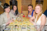 Celebrating Women's Christmas at Casa Mia's Restaurant, Listowel on Friday night last were friends Sonia Sheehan, Allie Riordan, Heather O'Rourke Mairead Roberts.