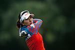 Dana Kim of Korea in action during the Hyundai China Ladies Open 2014 on December 12 2014, in Shenzhen, China. Photo by Xaume Olleros / Power Sport Images