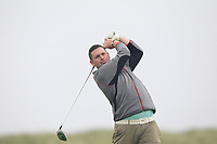 Thomas O'Connor (Athlone) on the 9th tee during Round 1 of The East of Ireland Amateur Open Championship in Co. Louth Golf Club, Baltray on Saturday 1st June 2019.<br /> <br /> Picture:  Thos Caffrey / www.golffile.ie<br /> <br /> All photos usage must carry mandatory copyright credit (© Golffile | Thos Caffrey)