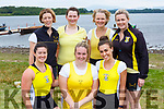 The Muckross Senior Ladies crew at the Killarney regatta on Sunday front row l-r: Karen Buckley, Michelle Fleming, Aoife Farrel back row: Fiona Devane, Aideen Moynihan, Devise Casey Aoife Cooper