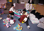Berkeley CA Caregivers taking care of babies in at infant day care center