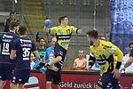 Rhein Neckar Loewe Jerry Tollbring (Nr.17) kommt frei zum Schuss  beim Spiel in der Handball Bundesliga, SG BBM Bietigheim - Rhein Neckar Loewen.<br /> <br /> Foto &copy; PIX-Sportfotos *** Foto ist honorarpflichtig! *** Auf Anfrage in hoeherer Qualitaet/Aufloesung. Belegexemplar erbeten. Veroeffentlichung ausschliesslich fuer journalistisch-publizistische Zwecke. For editorial use only.
