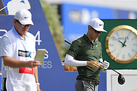 Dylan Frittelli (RSA) on the 10th tee during the 2nd round of the DP World Tour Championship, Jumeirah Golf Estates, Dubai, United Arab Emirates. 16/11/2018<br /> Picture: Golffile | Fran Caffrey<br /> <br /> <br /> All photo usage must carry mandatory copyright credit (© Golffile | Fran Caffrey)