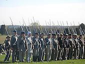 Civil War reenactment, Mannassas, on the way to Middleburg, 2007.