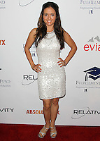 BEVERLY HILLS, CA, USA - OCTOBER 14: Danica McKellar arrives at the 20th Annual Fulfillment Fund Stars Benefit Gala held at The Beverly Hilton Hotel on October 14, 2014 in Beverly Hills, California, United States. (Photo by Celebrity Monitor)