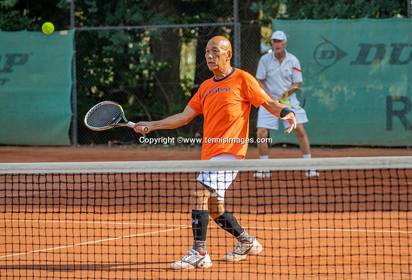 Hilversum, The Netherlands,  August 23, 2019,  Tulip Tennis Center, NSK, men's doubles<br /> Photo: Tennisimages/Henk Koster
