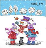 Kate, CHRISTMAS SANTA, SNOWMAN, WEIHNACHTSMÄNNER, SCHNEEMÄNNER, PAPÁ NOEL, MUÑECOS DE NIEVE, paintings+++++Christmas page 58,GBKM175,#x#
