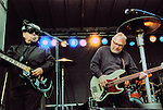 César Rosas & Conrad Lozano of Los Lobos, live concert Spring Grüv, Canyons Resort, Park City, Utah