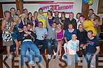 3932-3938.Birthday Boy - Mikey Boyle from Ballyduff, seated centre, having a ball with family and friends at his 21st birthday party held in Lowe's Bar, Ballyduff on Friday night.................................................................... ............   Copyright Kerry's Eye 2008