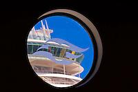 Disney Cruise Line terminal, Port Canaveral, Florida USA