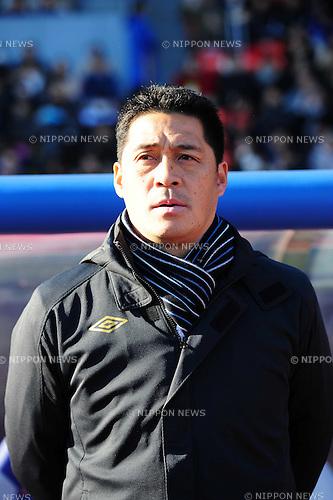 Masanobu Matsunami (Gamba), JANUARY 1, 2013 - Football / Soccer : .The 92th Emperor's Cup Final match between Gamba Osaka 0-1 Kashiwa Reysol at National Stadium, in Tokyo, Japan. (Photo by AFLO)