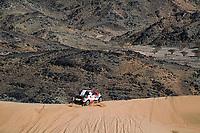 5th January 2020, Jeddah, Saudi Arabia;  310 Alonso Fernando esp, Coma Marc esp, Toyota Hilux, Toyota Gazoo Raging during Stage 1 of the Dakar 2020 between Jeddah and Al Wajh, 752 km - Editorial Use