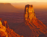 Pinnacle and the Canyonlands, Proposed Canyonlands Basin Wilderness, Canyonlands National Park beyond, Utah