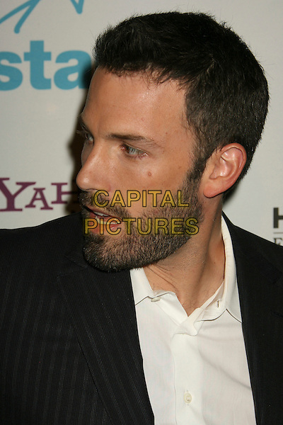 BEN AFFLECK.11th Annual Hollywood Awards Gala Ceremony held at the Beverly Hilton Hotel, Beverly Hills, California, USA..October 22nd, 2007.portrait headshot beard stubble facial hair side view .CAP/ADM/RE.©Russ Elliot/AdMedia/Capital Pictures.