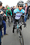 Michael Kwiatkowski (Omega Pharma-Quick Step) makes his way to the start of the 56th edition of the E3 Harelbeke, Belgium, 22nd  March 2013 (Photo by Eoin Clarke 2013)