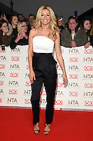 Tess Daly<br /> at the National TV Awards 2017 held at the O2 Arena, Greenwich, London.<br /> <br /> <br /> ©Ash Knotek  D3221  25/01/2017