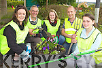 CLEAN-UP: Members of the newly revamped Duagh Tidy Towns Committee who are planning a number of clean-ups in the area, l-r: Bridget McAuliffe (Chairperson), Brendan Stack, Eileen Dennehy (Secretary), Steve Watson, Nonnie Cronin (Treasurer).