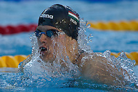Daniel Gyurta (HUN) competes during the 200 m Men's Breaststroke Swimming competition during the 13th FINA Swimming World Championships held in Rome, Italy. Thursday, 30. July 2009. ATTILA VOLGYI