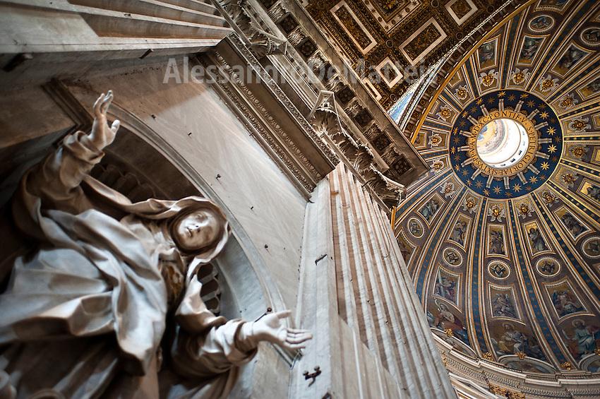 Rome@2013 - Basilica di San Pietro in Vaticano - Interni