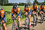Riwal Cycling Team (VPC), Stage 2: Team Time Trial, 62th Olympia's Tour, Netterden, The Netherlands, 13th May 2014, Photo by Pim Nijland / Peloton Photos