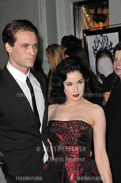 "Dita Von Teese at the Los Angeles premiere of ""Black Swan"", the closing film of the 2010 AFI Fest, at Grauman's Chinese Theatre, Hollywood..November 11, 2010  Los Angeles, CA.Picture: Paul Smith / Featureflash"