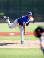 Javy Guerra / Los Angeles Dodgers 2008 Instructional League..Photo by:  Bill Mitchell/Four Seam Images