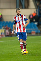 Atletico de Madrid´s Gabi during 2014-15 La Liga match between Atletico de Madrid and Villarreal at Vicente Calderon stadium in Madrid, Spain. December 14, 2014. (ALTERPHOTOS/Luis Fernandez) /NortePhoto