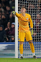 Chelsea goalkeeper, Kepa Arrizabalaga during Chelsea vs Aston Villa, Premier League Football at Stamford Bridge on 4th December 2019